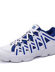Men's Athletic Shoes Spring / Summer / Fall / Winter Flats Leather Athletic / Casual Flat Heel Lace-up Basketball