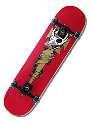 Classic Skateboard(53*36mm) Red/Green