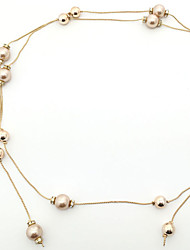 Women Other Chain,Party Pearl Summer