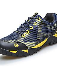 Masculino-Tênis-Conforto-Rasteiro-Azul / Verde-Tule / PVC-Para Esporte