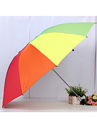 8K Creative Seventy Percent Off Rainbow Umbrella Portable Umbrella Folding Umbrella