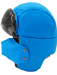 Chapka Hat / Fur Hat Ski Hat Women's / Men's Thermal / Warm / Windproof Snowboard Polyester Yellow / Red / Black / Blue / Light Khaki