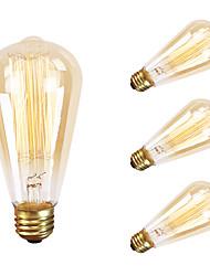 GMY 4pc ST64 13molybdenum fio da lâmpada do vintage 60w e26 AC120V decorar lâmpada