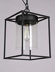 Traditional Modern Create Style Metal Glass Pendant Lamp for the Bedroom / Foyer / Kids Room Chandelier Light