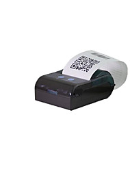 80mm / S 203Dpi Dc 9V3A Capacity 58Mm Portable Wifi / Bluetooth Thermal Zkc-5804 Small Ticket Printer