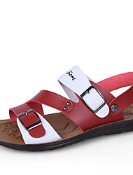 Men's Summer Autumn Cool Fashion Sandals&Flip Flops for Genuine Leather Casual Sandals for Beach