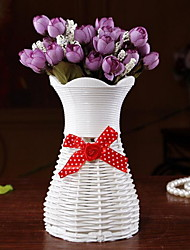 Woven Vase Wedding Decoration Desktop Decoration(Random Colors)