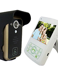 Wireless Color Video Intercom Doorbell