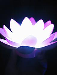 1pc conduit batterie lampe stade fleur noël offrande nuit-lumière