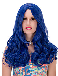Blue long wig.WIG LOLITA, Halloween Wig, color wig, fashion wig, natural wig, COSPLAY wig.