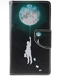 Para Funda HTC Cartera / Soporte de Coche / con Soporte / Flip Funda Cuerpo Entero Funda Globo Dura Cuero Sintético HTC HTC Desire 626