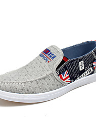 Men's Fashion Loafers & Slip-Ons Casual/Travel/Youth Fabric Board Shoes