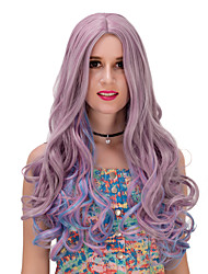 Silver Purple Blue Gradient long wig.WIG LOLITA, Halloween Wig, color wig, fashion wig, natural wig, COSPLAY wig.
