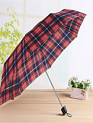 Short Handle Folding Umbrella