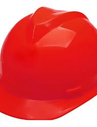 um maço de botão vermelho pg-v amarela 5 a capacetes de plástico capacetes de plástico v ordinária