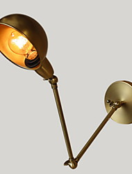 Max 60W American Industrial-Style Wall Sconces