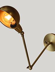 Estilo Mini Lâmpadas de Parede,Rústico E26/E27 Metal