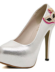 Women's Shoes Leatherette Spring / Fall Heels Heels Party & Evening Stiletto Heel Sparkling Glitter  Others