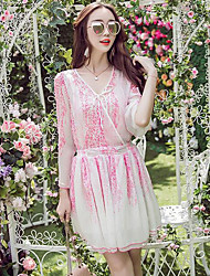 Women's Going out / Casual/Daily Simple / Cute A Line Dress