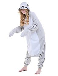 Kigurumi Pijamas nueva Cosplay® / Animé Leotardo/Pijama Mono Festival/Celebración Ropa de Noche de los Animales Halloween Gris Bloques