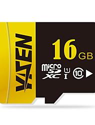 yisen 16gb UHS-I u1 / класс 10 MicroSD / MicroSDHC / microsdxc / tfmax чтения speed80 (Мб / с)