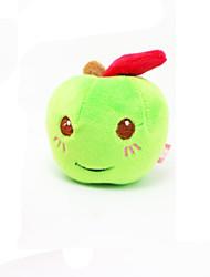 Cat / Dog Pet Toys Plush Toy / Squeaking Toy Squeak / Squeaking Red / Green Plush