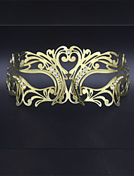 Luxury Masquerade Mask Venetian Laser Cut Metal Party Mask1005A3