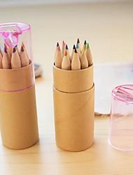 enfants a8-28 crayon de couleur canon avec 12 stylos crayon