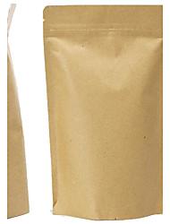 Spot Aluminum Kraft Paper Bags Standing Ziplock Food Packaging Bags Tea Bags Sealed Plastic Bag And A Packet Of Ten