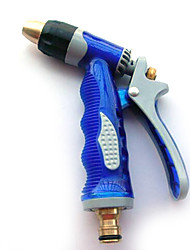 Zinc Alloy Spray Gun Spray Gun Metal Blue Navy Gun Car Wash High Pressure Water Gun Head Of Household Washing Tools