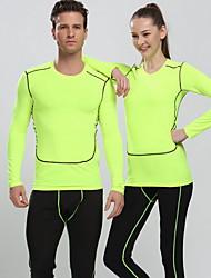 Mulheres Homens Manga Curta Corrida Blusas Filtro Solar Confortável Primavera Verão Outono Moda Esportiva Corrida Algodão Náilon Chinês