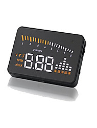 X5 Automotive Head Up Display, HUD Digital Projection, OBDII Display, Speed Meter, Head Projector