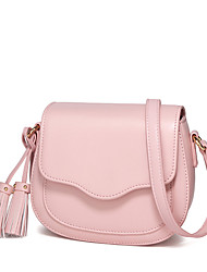Femme Polyuréthane Décontracté / Shopping Sac à Bandoulière / Trousse de Maquillage / Mobile Bag Phone