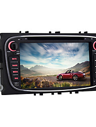 quad-core 7 inch 2 din Android 5.1.1 auto dvd-speler voor Ford Mondeo 2007 ~ 2011 met bluetooth radio wifi spiegel koppeling