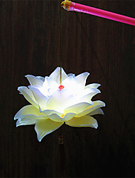 1pc levou bateria fase lâmpada flor do natal portátil night-light