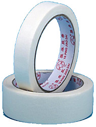 Professional Supply White Masking Tape Painting Special Textured Plastic Plain Masking Tape