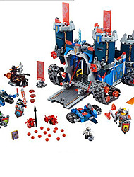 The Future Of The Knights Of The Group Of Science And Technology Mobile Fortress Castle Building Blocks