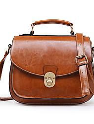 Women's Fashion Classic Crossbody Bag   brown   black  Wine red