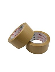 4.8 * 1.6Cm 100 Mi Yellow Transparent Tape Sealing Tape Packing Cloth Packaging (Volume 2 A)