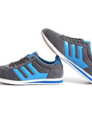 Da donna-Sneakers-Casual / Sportivo-Ballerine-Piatto-Tessuto-Blu / Rosso / Grigio