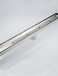 600mm Stainless Steel Long Shower Floor Drain Tile Insert Drain Channel