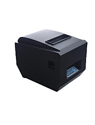 Print Width 72 Mm Dc24V 2.5A Usb Ethernet Port Pos80Mm Small Thermal Receipt Printer with Cutter
