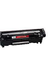 12a fácil adicionar cartuchos de pó para hp hp1020 hp1010 M1005 1018printed páginas 2000