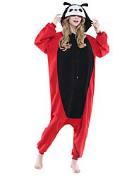 Kigurumi Pijamas nueva Cosplay® / Mariquita Leotardo/Pijama Mono Festival/Celebración Ropa de Noche de los Animales Halloween Rojo Bloques
