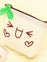 Small Fresh Wallet Purse Students Expression Coin Bag Korean Simple Hand Bag
