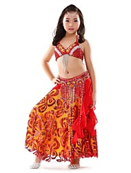 Ballet Outfits Children's Chiffon Paillettes 3 Pieces  Belly Dance