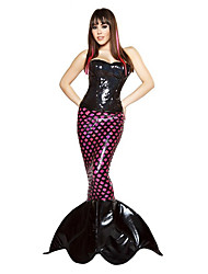 Costumes Mermaid Tail Halloween / Christmas / Carnival Light Purple Vintage Dress / Tail