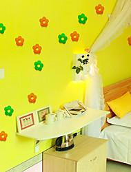 Noël / Romance / Fantaisie Stickers muraux Stickers muraux 3D Stickers muraux décoratifs / Stickers de frigo / Stickers mariage,pvc
