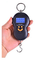 Portable Electronic Scale(Maximum Weight: 50 KG,Black)