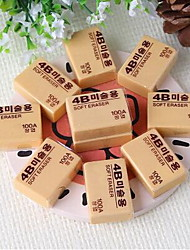 Medium 4B Drawing Rubber Eraser Professional Art Eraser For Student